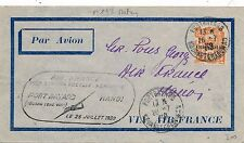 Lettre Fort Bayard Kouang Tcheou Air France China Asia  Cover