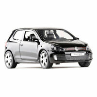 1:36 VW Golf GTI Model Car Alloy Diecast Toy Vehicle Black Gift Kids Collection
