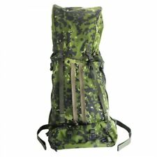 Genuine Danish Army M84 Military 45 Litre Rucksack Bergan Flecktarn Camouflage