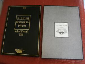 Il Libro dei Francobolli d'Italia - Valori Postali Anno 1998 BUCA DELLE LETTERE
