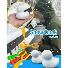 Fashion Duck Shaped Snowball Maker Clip Children Outdoor Winter Snow Sand Mold*2