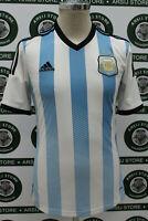 maglia calcio ARGENTINA TG S 2013/14 shirt maillot camiseta trikot