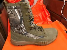 "New Nike Mens SFB 8"" Field Realtree Camo Boots 845167-990 sz 12 FREE SHIPPING"