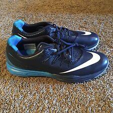 Nike Lunar Control 4 Golf Shoes Cleat Mens 10 819037 400 Obsidian Blue 819036