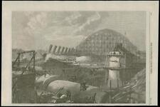 1868-London Euston Road Terminus Midland Ferrocarril Trenes de obras (202)
