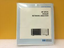 HP / Agilent 08757-90001 8757A Scalar Network Analyzer Operating Manual
