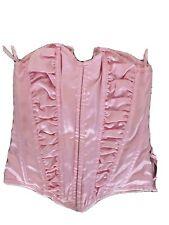 Ann Summers Women's Boned Corset Top Pink Size 10
