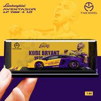 TIME MODEL 1:64 Lamborghini Aventador LP700-4 1.0 Kobe BRYANT Diecast Car Model