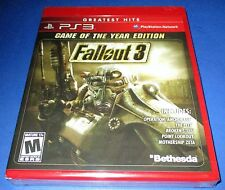 Fallout 3 - Game of the Year Edition Sony PlayStation 3 *New! *Free Shipping!