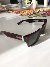 COLLECTOR: IRON MAN Limited Von Zipper Fulton Red Checker Ironman Sunglasses