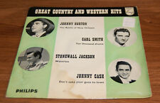 Greatest Country And Western Hits Phillips BBE 12318 EP