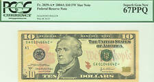 FR.2039-A* 2004A $10 FW STAR NOTE FEDERAL RESERVE PCGS 67PPQ