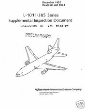 L-1011 TriStar Historic Jet Manual archive Service rare period collectible