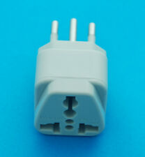 Universal AUS UK USA EURO to Brazil Type N BR-2 Travel Adaptor AC Power Plug NEW