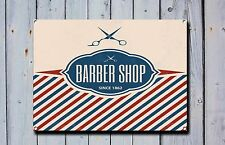 Barber Shop Sign, Metal Sign, Barber Shop Signs, Vintage Style, Barber Shop, 714