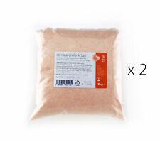 Himalayan Pink Salt 4kg - Pure and Naturally Organic Food Grade Fine Salt