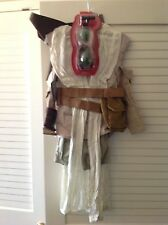 Disney Store Rey's Deluxe Costume Childs Star Wars scavenger w/ mask child's5/6