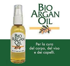 Argan - Olio puro 100% Ecocert Biologico - BioArganOil 50 ml - Super idea regalo