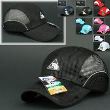 Mesh Cap KILIMANJARO BLACK Hat Running Hiking Jogging Outdoor Sports Baseball