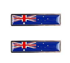 AUSSIE FLAG Badge for: FORD FALCON GT HOLDEN MONARO TORANA COMMODORE VALIANT V8