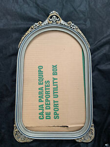 BEAUTIFUL OLD Antique Vintage Ornate WOOD & GESSO PICTURE FRAME