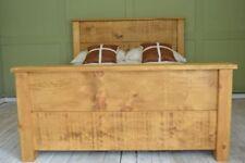 Handmade Solid Wood Rustic Bed Frames & Divan Bases