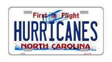 Metal Vanity License Plate Tag Cover - Carolina Hurricanes - Hockey Team