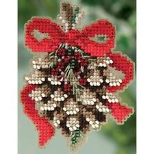 MILL HILL WINTER HOLIDAY COLLECTION PINE CONE KIT - GREAT ORNAMENT / HOLIDAY PIN