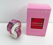 Bvlgari Omnia Pink Sapphire Eau de Toilette mini Perfume, 5ml, Brand New in Box!