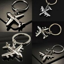 Fashion Air Plane Key Chains Keychain Keyring Civil Aviation Air Plane Metal Hot