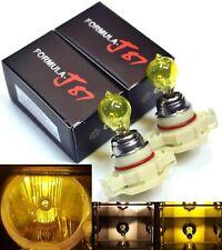 Halogen PSX24W 2504 24W 3000K Yellow Two Bulbs Fog Light Replacement Plug Play