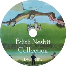 Edith Nesbit Childrens Tale Audio Book Fiction Collection on 1 MP3 DVD Free Ship