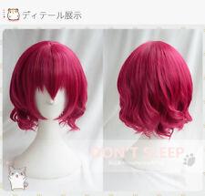 Anime Akatsuki no Yona Wig Pretty Princess Short Rose Hair Yona Cosplay Wigs