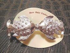 """(01938) Haarspange """"silberne Fische"""" - echter Hingucker - ansehen und kaufen !!!"""