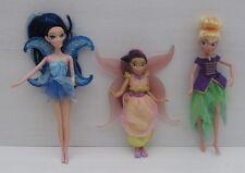 Bambola Barbie Tinkerbell FIRA Blue capelli MOON ALI FATA Bundle