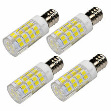 4-Pack E12 110V LED Bulb for Whirlpool 22002263 Refrigerator / Dryer Light