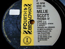 "MILLIE SCOTT - PRISONER OF LOVE   7"" VINYL"