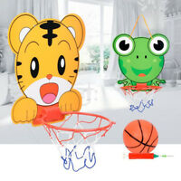 Basketball Stand Child Toy Basketball Board Cartoon Animal Kids Outdoor Indoor