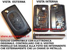 CHIAVE COVER GUSCIO 3 TASTI PER TELECOMANDO FIAT DUCATO SCUDO SE IDENTICO A FOTO