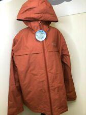 Columbia Men's Waterproof Byers Peak Novelty Hooded Jacket X-Large Orange