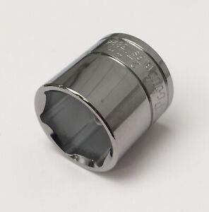 "24mm Blue Point 3/8"" drive standard shallow 6 pt polished socket tool inc VAT"