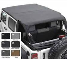 Smittybilt 2007-2009 Fits Jeep Wrangler JK 4 Door Extended Top BLK Diamond 94535