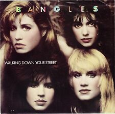 BANGLES  (WalkIng Down Your Street)  Columbia 38-06674 + Picture sleeve