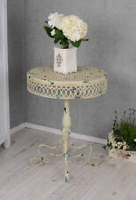 Garden Table Shabby Chic Antique Metal Side Balcony Round