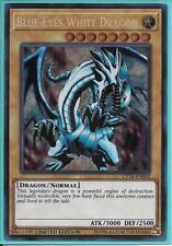 Yugioh Card - Blue-Eyes White Dragon *Secret Rare* CT14-EN002 (NM/M)