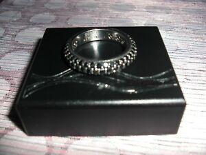 gekratzt poliert DUR Schmuck Ring JILL Silber 925// R4198