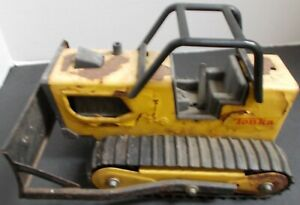 Tonka 1970's T-6 Bulldozer w/cage and one used to build many a development/road