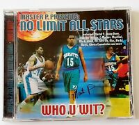 Master P. Who U Wit? No Limit Allstars (CD, May-1999, No Limit Records)