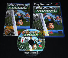 XS JR. LEAGUE SOCCER Ps2 Ita Calcio Arcade **DVD MINT**