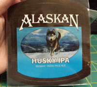 Alaska Brewing Co Alaskan Husky IPA Mosaic India Ale Peel & Stick Decal sticker